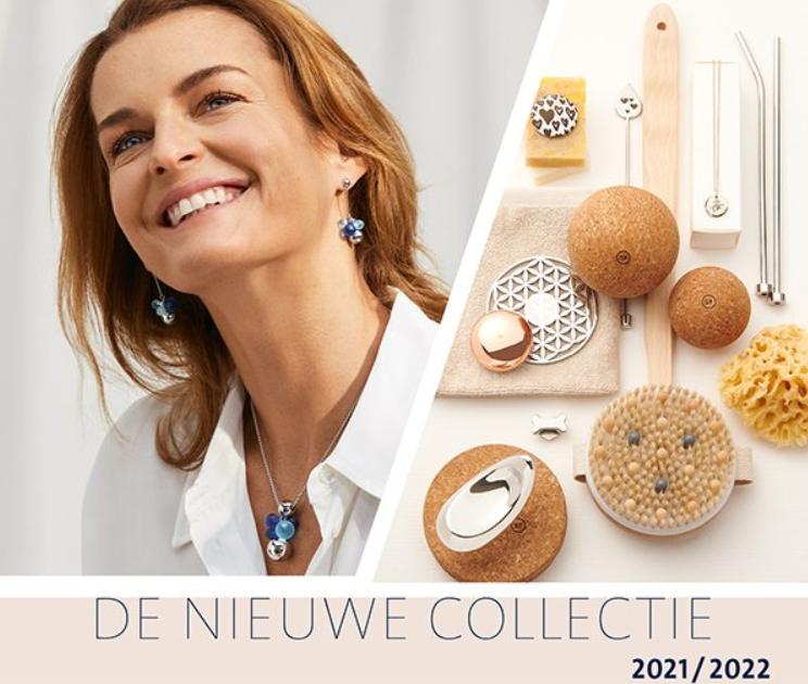 afbeelding van een dame met en de nieuwe wellness items van Energetix